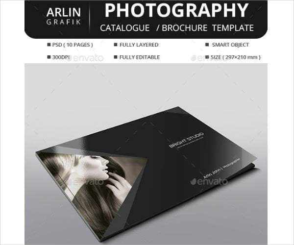 Printable Photography Brochure Template