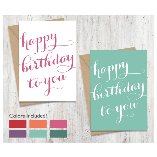 printable scripted personalized birthday card template