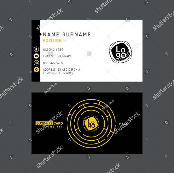 professional-circular-maze-business-card-template