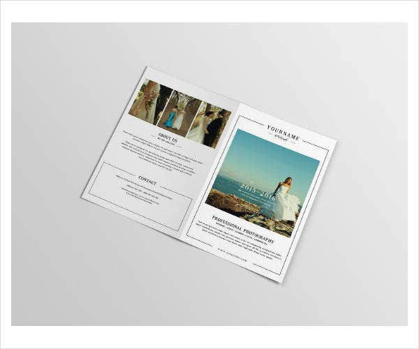 Professional Photography Brochure Template