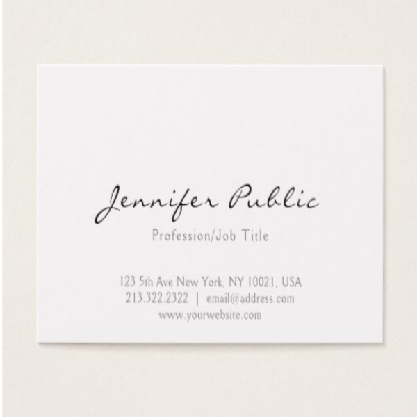 Professional Simple Business Card Template