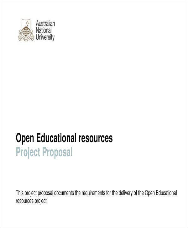 Project Proposal on Education for Students