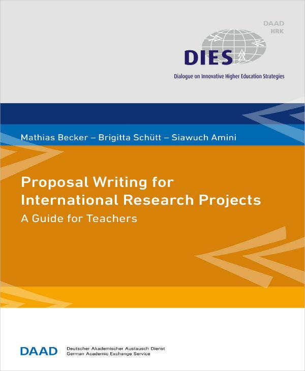 Proposal for International Research Projects