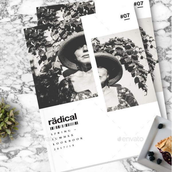 Radical Spring Summer Lookbook Template