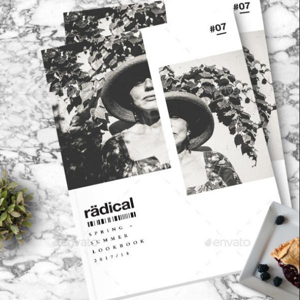 radical spring summer lookbook template