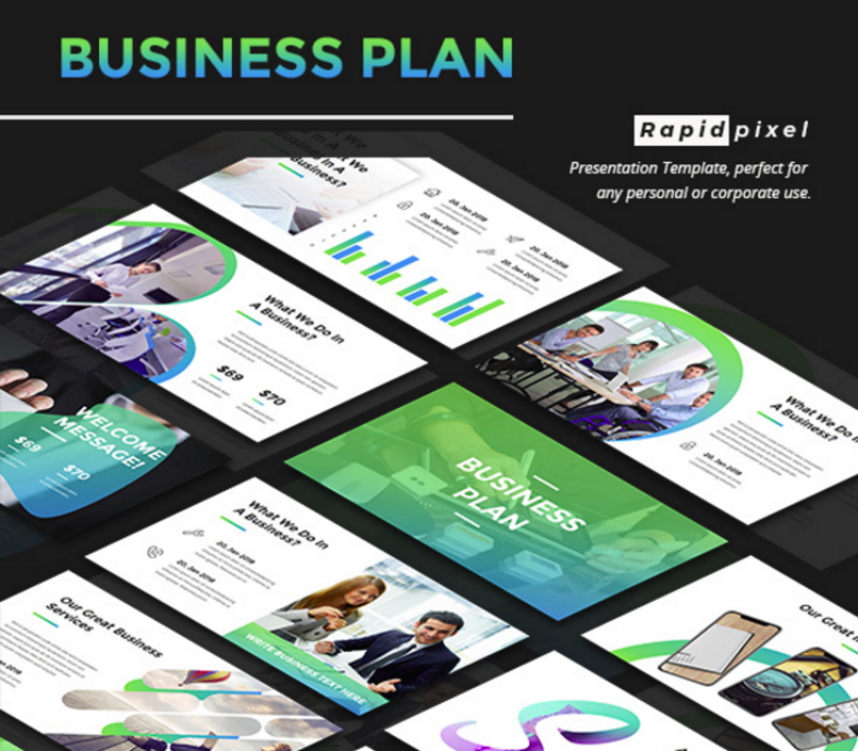 20 business plan powerpoint designs templates psd ai free