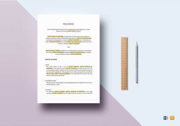 rental agreement template2