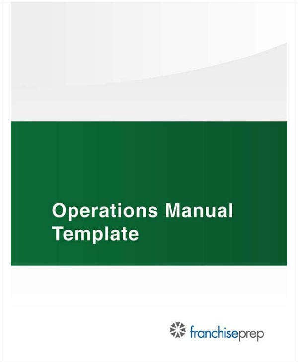 restaurant operational manual template1