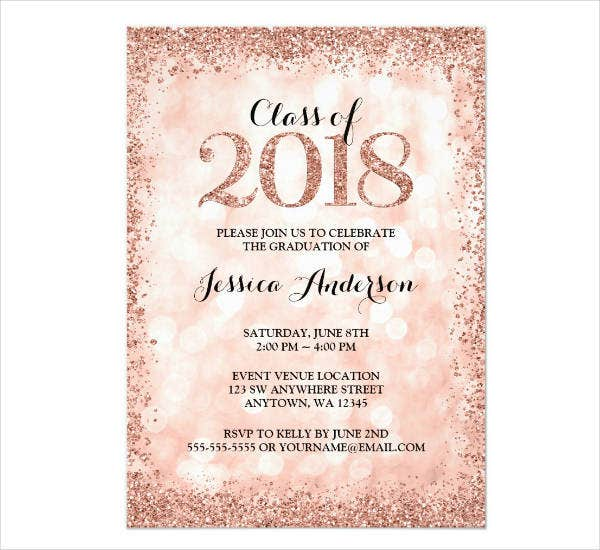 11  high school graduation invitation designs  u0026 templates