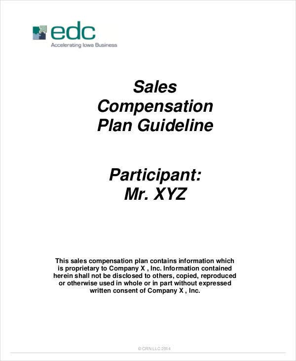 sales compensation agreement