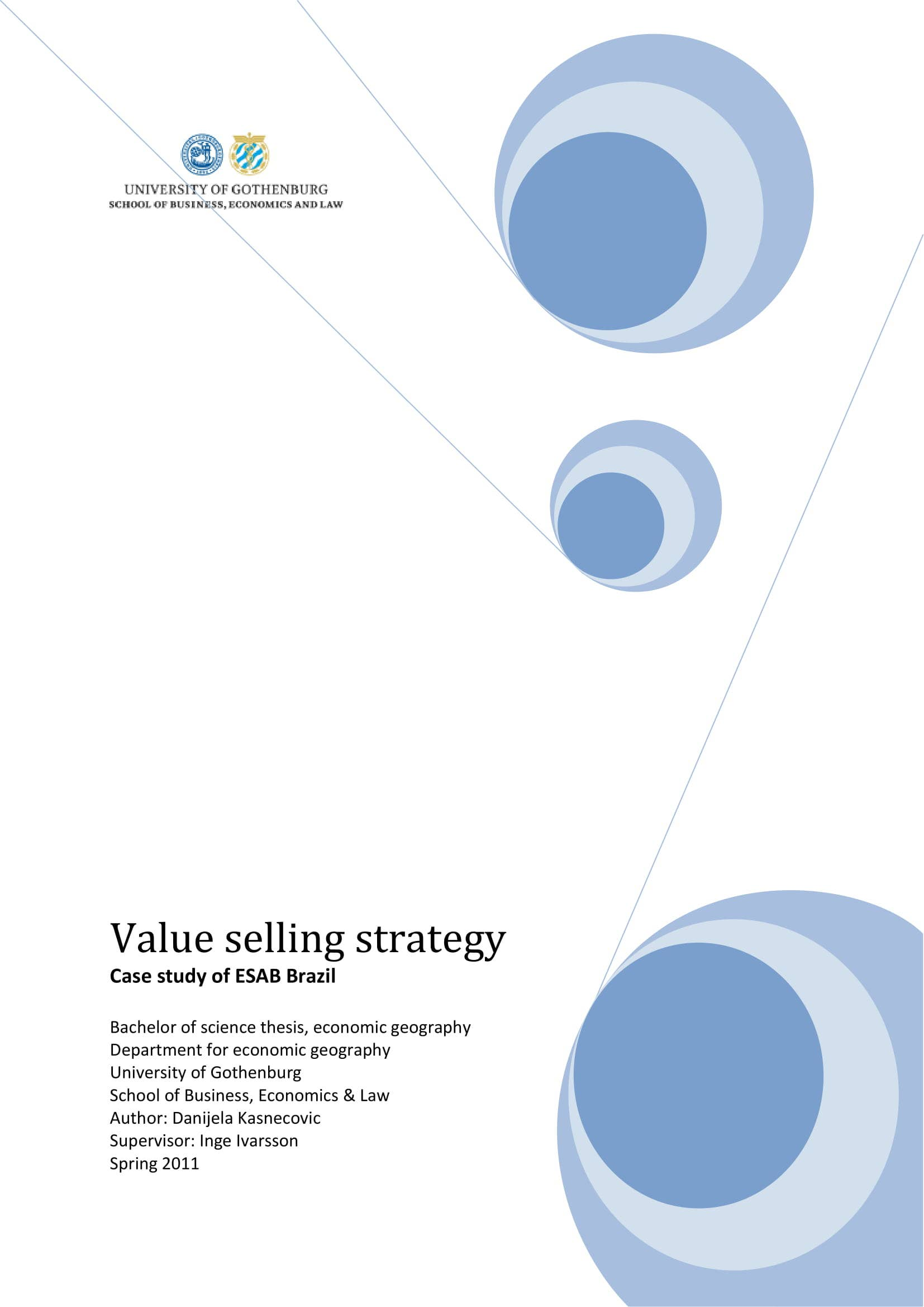 sales strategic plan study