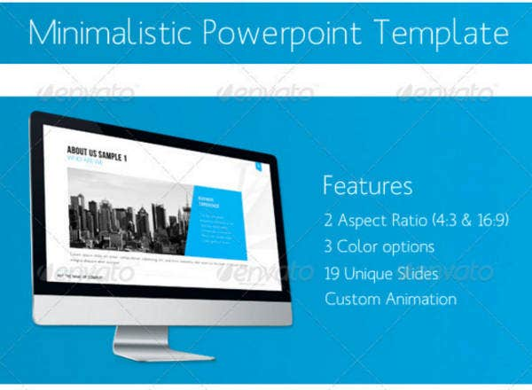 Sample Minimal PowerPoint Template