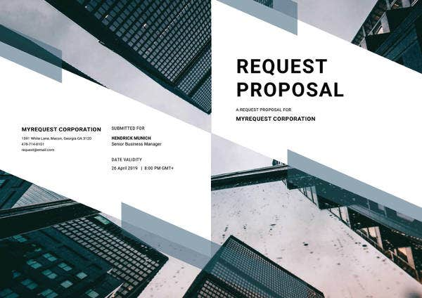 sample request proposal template