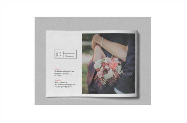 Save The Date Photography Brochure Template