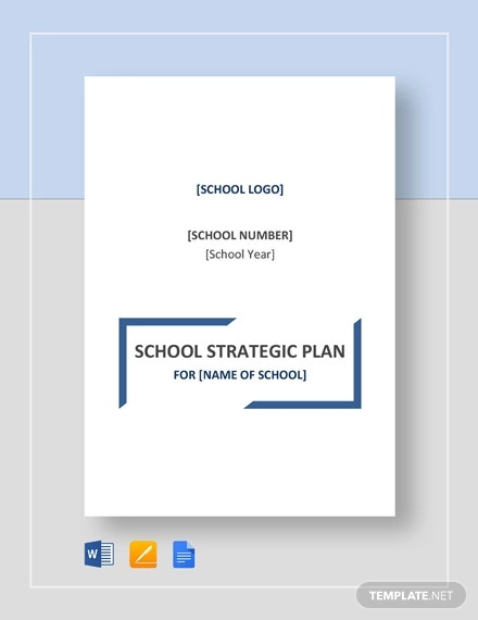 5+ Sample School Strategic Plan Templates - DOC, PDF, Pages