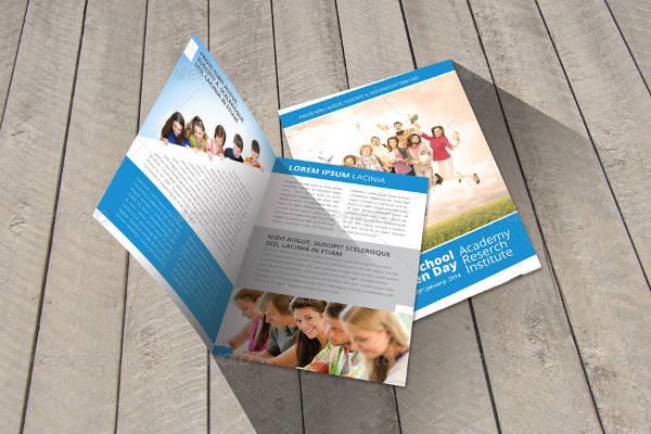 school welcome brochure template