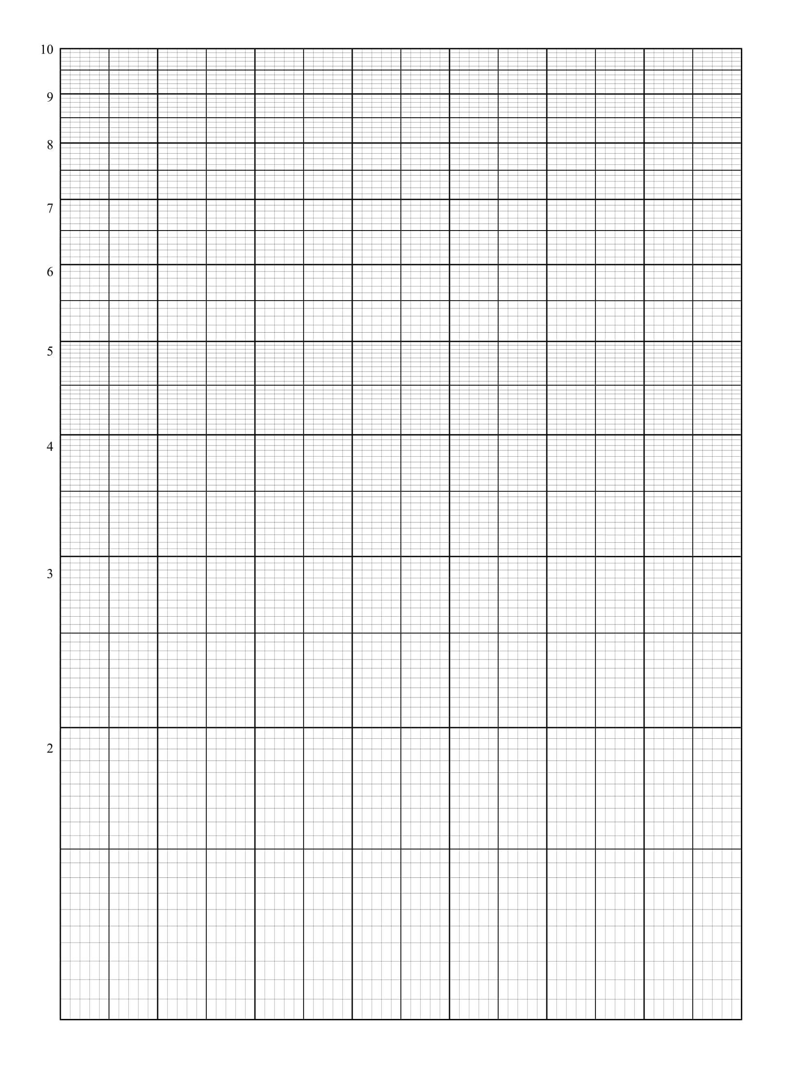 semi logged ruled paper template