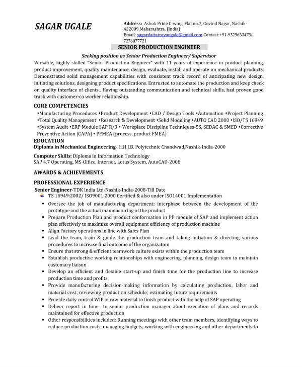 Senior-Production-Engineer-CV-Sample Sample Resume For Job Format on sample job thank you letters, sample resume word document, sample student resume format, sample resume cover letter format, sample it resume formats, sample resume format word, sample resume for skills, sample resume templates, sample cover letters for employment, sample resumes for jobs, sample dance resume format, sample job cover letter examples, simple sample resume format, sample government resume format, sample job cover letter for fashion, sample 2 page resume examples, sample resume forms, sample fresher resume format, sample resume format 2014, sample resume pdf-format,