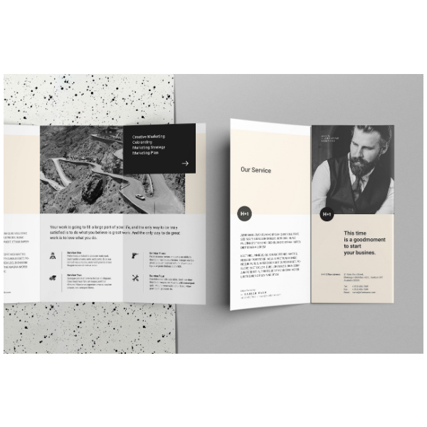 Service Business TriFold Brochure
