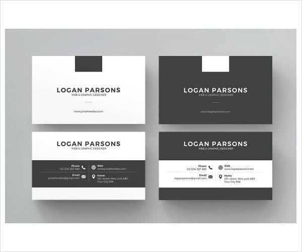simple corporate business card template1