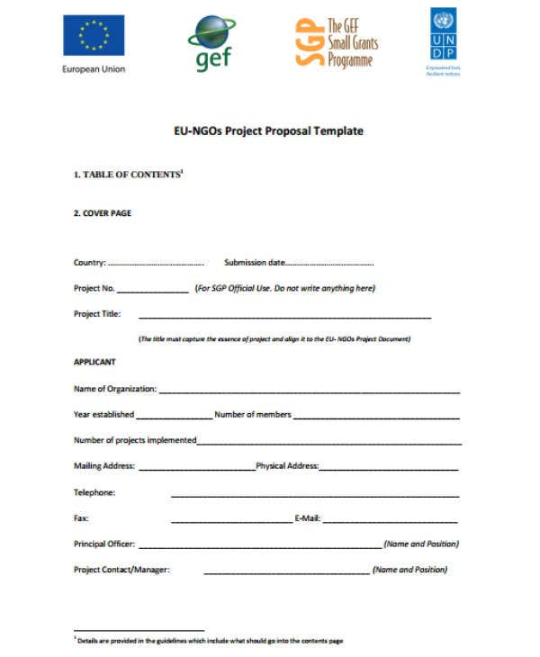 8 Ngo Project Proposal Templates Pdf Doc Free Premium Templates