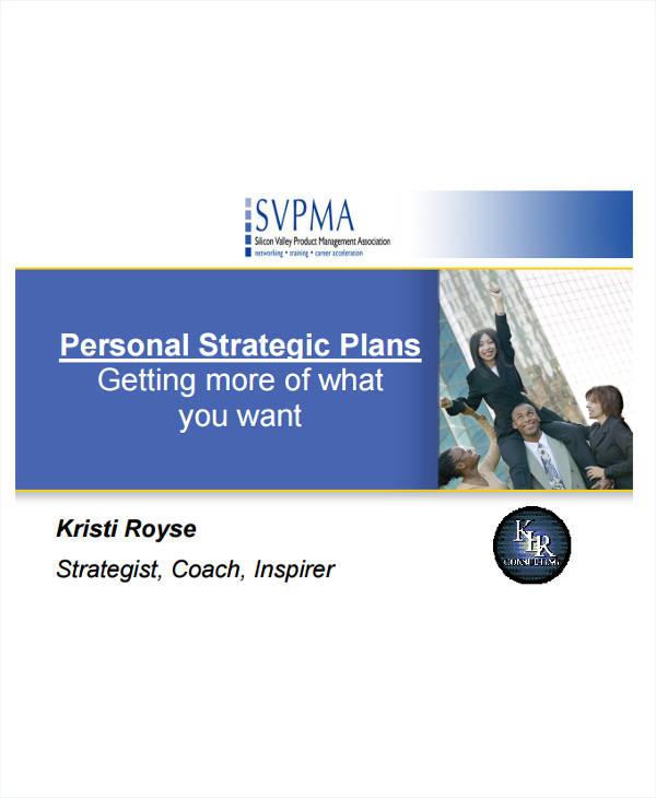 simple personal strategic plan