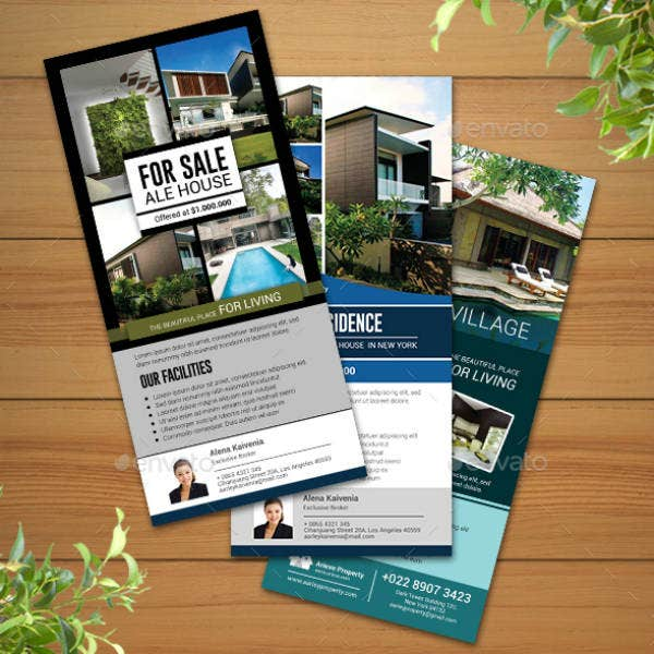 Simple Real Estate Rack Card