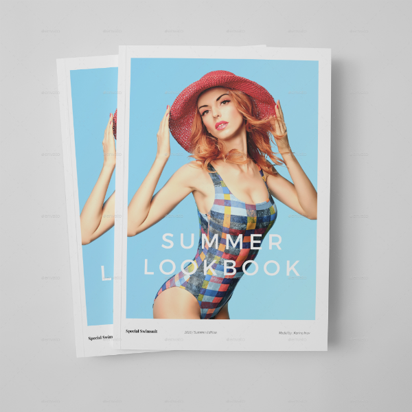 Simple Summer Lookbook Template