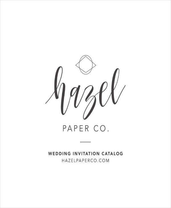 simple wedding note template