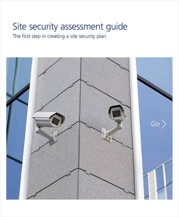 Site Security Assessment Sample