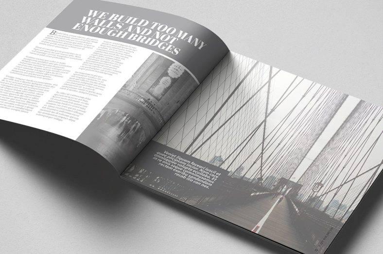 square-simple-magazine-template