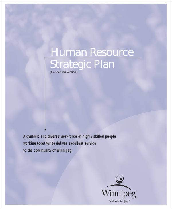 Standard Human Resources Strategic Plan