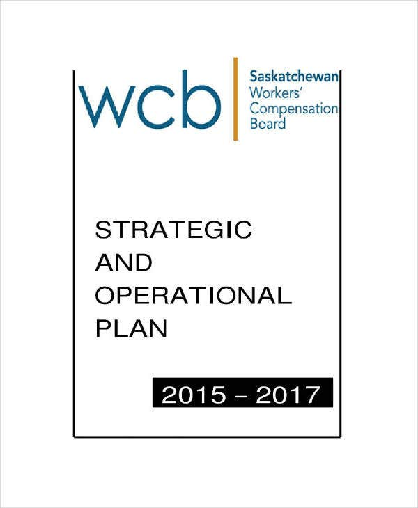 Strategic Operation Plan Example