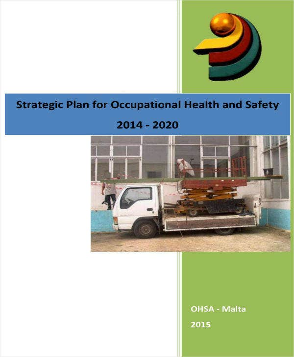 Strategic Plan for Health & Safety