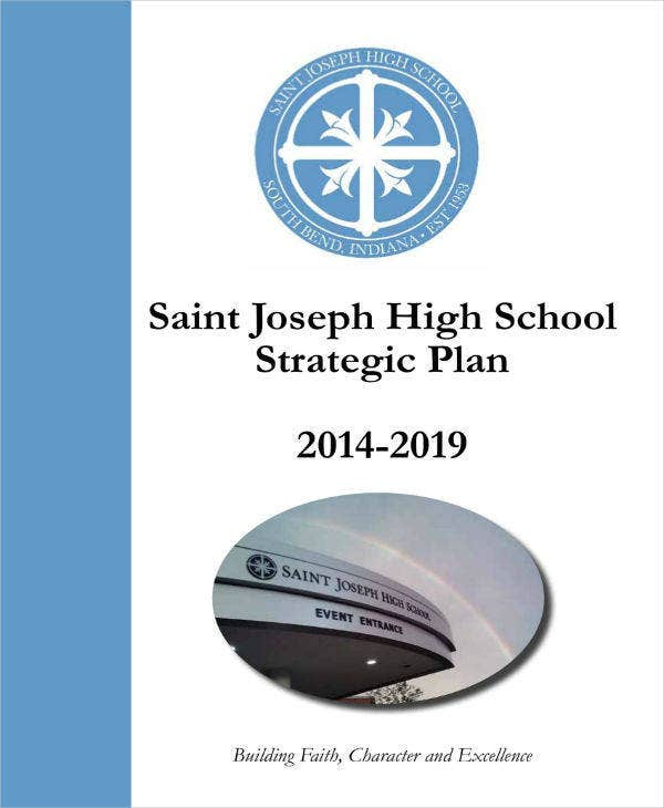 strategic plan for private school