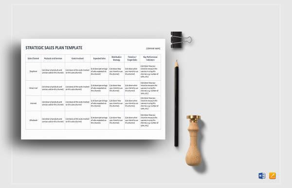 strategic sales plan template1