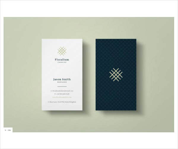 Stylish Modern Corporate Business Card Template