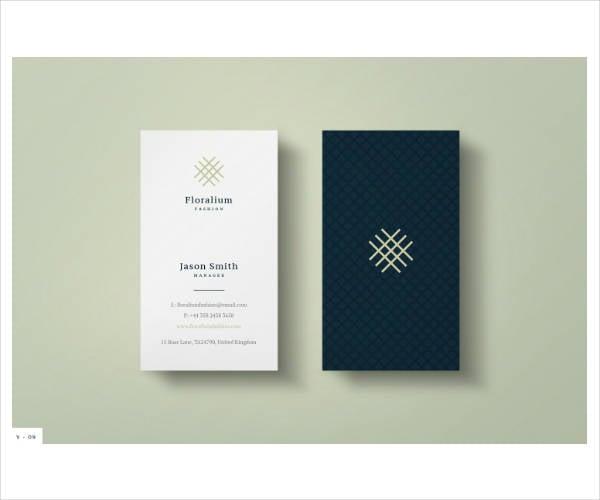 stylish modern corporate business card template1