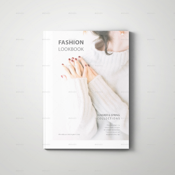 Summer Spring Fashion Lookbook Template