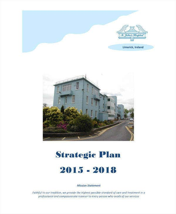 Three Year Strategic Plan Sample