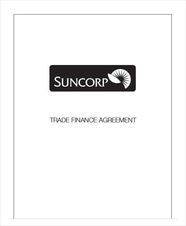 trade finance agreement