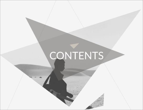 triangle keynote presentation template