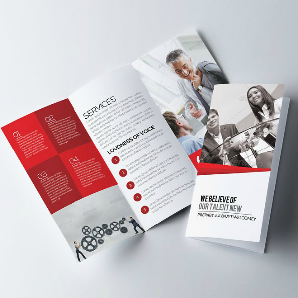 Trifold Multipurpose Service Business Brochure Template