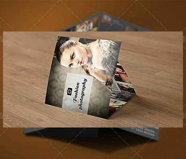 Trifold Photography Brochure Template