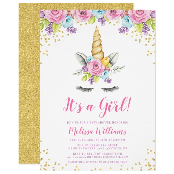 watercolor-floral-unicorn-baby-shower-invitations
