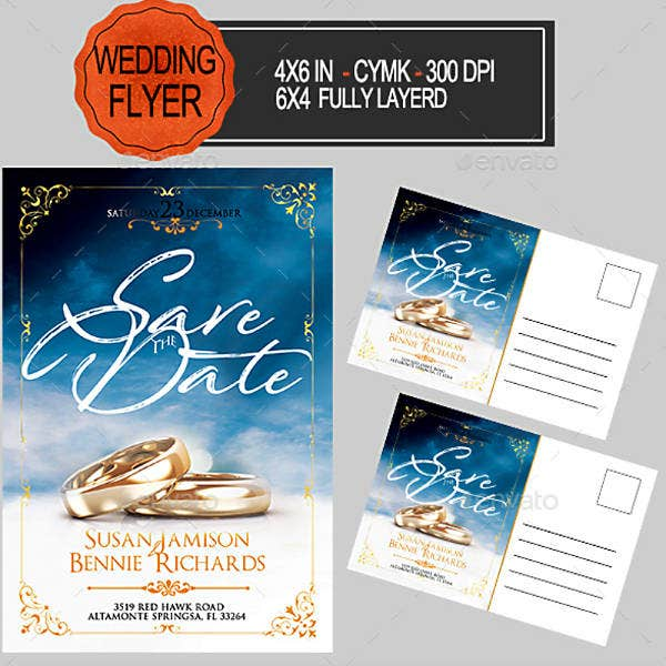 Wedding Flyer Invitation Template