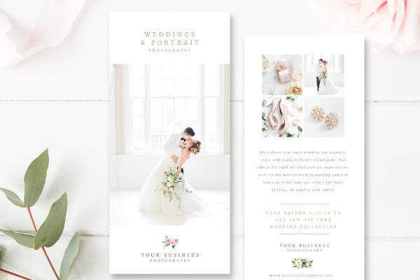 Wedding Photography Marketing Card