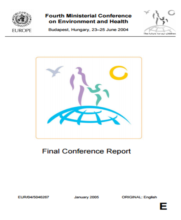world health organization final conference report