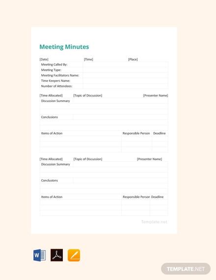 free simple meeting