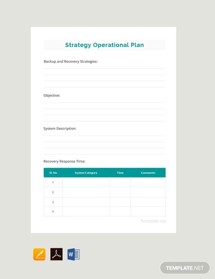 free simple operational